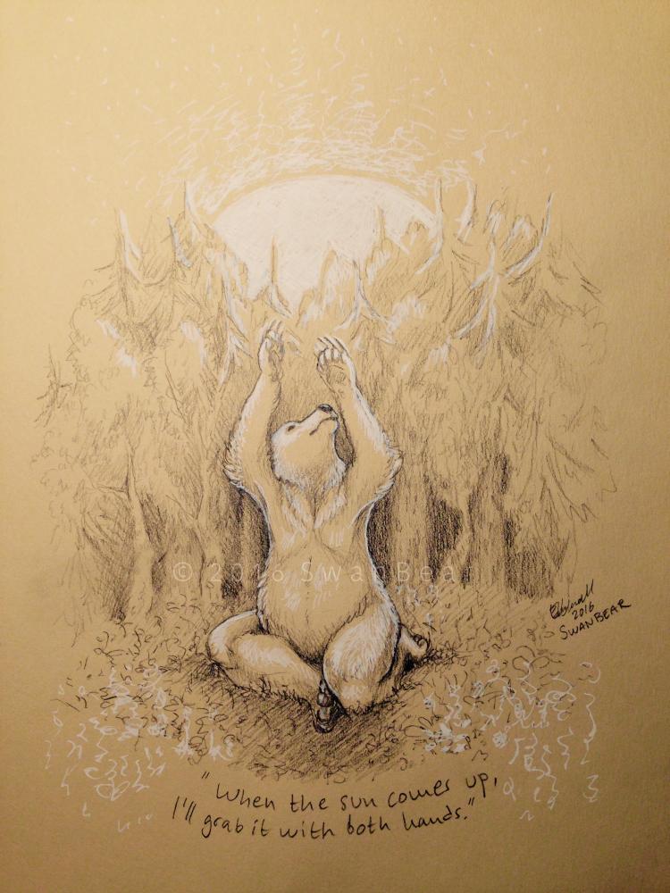 Art for Goodbye Planet Earth by Swanbear
