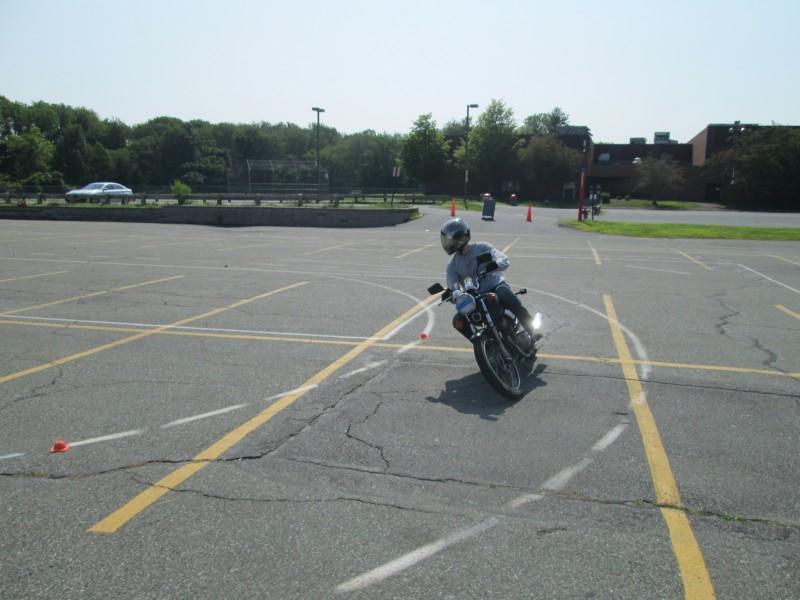 Matt Learning To Ride