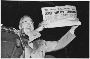 Fake News: Dewey Defeats Truman!